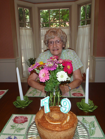 Mom's 79th Birthday - 2012