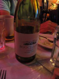 Second bottle of wine emptied!