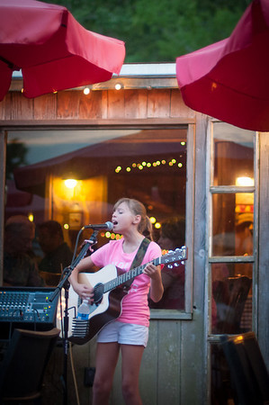 Abigail Taylor At Clay's Restaurant