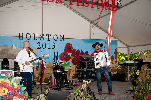 Chris Rybak At Houston Polish Festival