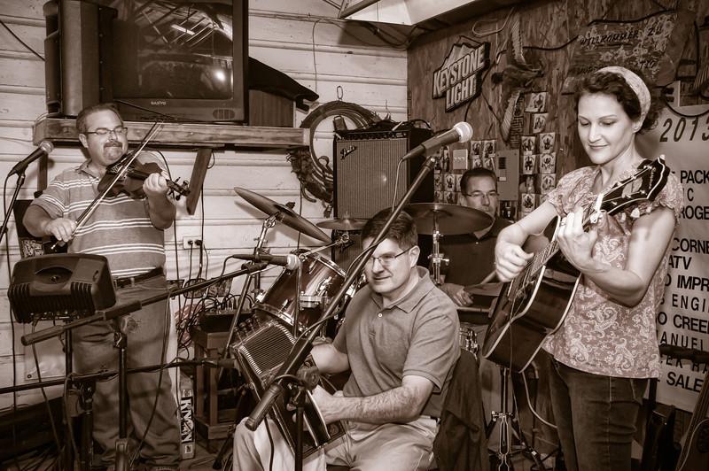 Old time Cajun music by Cory and Lisa McCauley