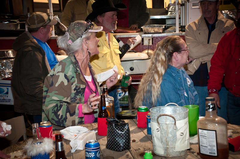Plantersville Swangers Cookoff Party In Navasota
