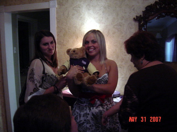 Amy & Danielle, and the PN-G Letterman Bear