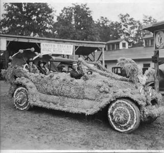 Floral Covered Car I (01766)