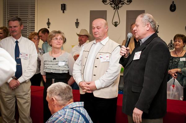 Polish Agriculture Delegation Reception In Bryan
