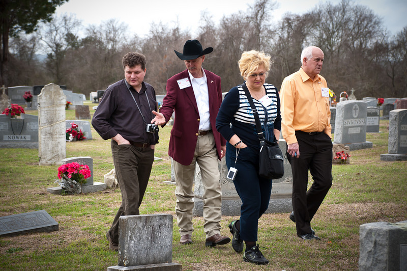 Cemetery tour.