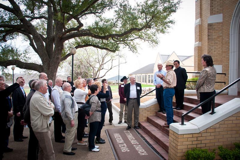 2011 Polish Agriculture Representatives Visit Grimes County Texas