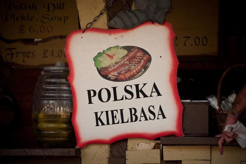 Lots of good Polish food at the Polish Pub at Polonia