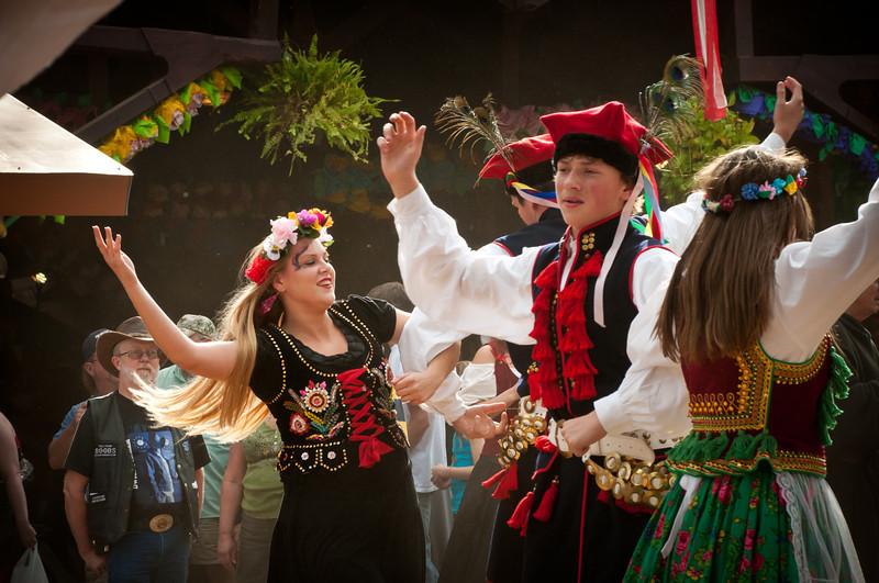 2012 Polish Heritage Celebration At The Texas Renaissance Festival