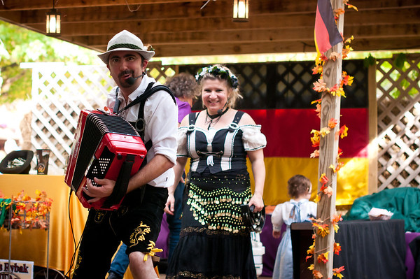 German Arborhaus & Biergarten At Texas Renaissance Festival