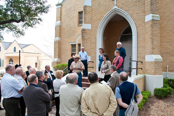 Polish Agriculture Group Visits Anderson, Texas