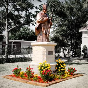 St. John Paul II Memorial Installation