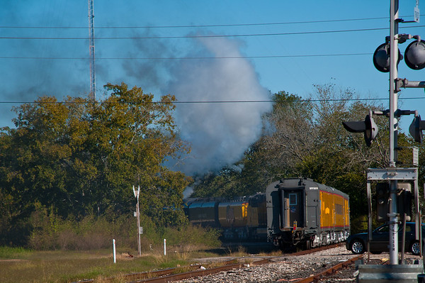 Union Pacific Steam Locomotive UP 844 In Hempstead