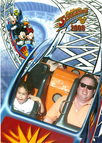 California Screamin is the best roller coaster at either of the California Parks!  Love it !
