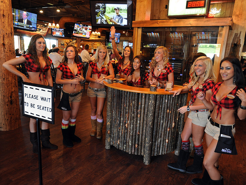 I was assigned to work the Opening Night at Twin Peaks. Photo gallery from Opening Night coming. Thanks, Gwinn_<br /> Twin Peaks opened the concept's newest location in Greenville. The mountain lodge-style sports restaurant known for its scenic views is located at 1034 Woodruff Road. The new Twin Peaks delivers to the Upstate a sports restaurant: with crave-able and high-quality comfort food, an extensive selection of 29-degree draft beer served from a full-service bar, a lively patio and outgoing and beautiful Twin Peaks Girls. The bold hunting lodge atmosphere is punctuated by abundant high-definition televisions, making the location the ultimate sports-watching venue. This is just the third Twin Peaks restaurant to open east of the Mississippi River.<br /> GWINN DAVIS PHOTOS<br /> gwinndavisphotos.com (website)<br /> (864) 915-0411 (cell)<br /> gwinndavis@gmail.com  (e-mail) <br /> Gwinn Davis (FaceBook)