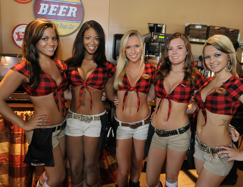 Twin Peaks opened the concept's newest location in Greenville. The mountain lodge-style sports restaurant known for its scenic views is located at 1034 Woodruff Road. The new Twin Peaks delivers to the Upstate a sports restaurant: with crave-able and high-quality comfort food, an extensive selection of 29-degree draft beer served from a full-service bar, a lively patio and outgoing and beautiful Twin Peaks Girls. The bold hunting lodge atmosphere is punctuated by abundant high-definition televisions, making the location the ultimate sports-watching venue. This is just the third Twin Peaks restaurant to open east of the Mississippi River.<br /> GWINN DAVIS PHOTOS<br /> gwinndavisphotos.com (website)<br /> (864) 915-0411 (cell)<br /> gwinndavis@gmail.com  (e-mail) <br /> Gwinn Davis (FaceBook)