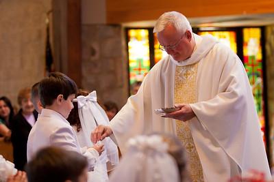 Tyler's 1st Holy Communion