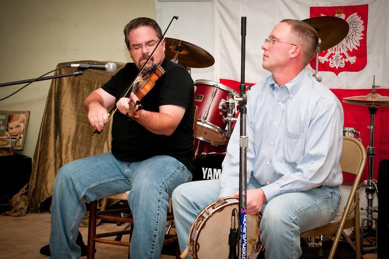 Brian Marshall playing old Steve Okonski tune with James Mazurkiewicz