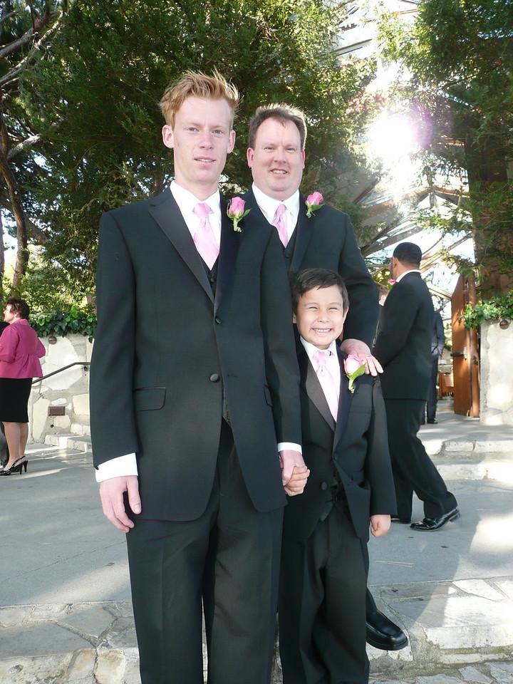 Joel, Papa and Jackson