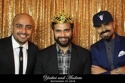Yashvi and Andrew Wedding