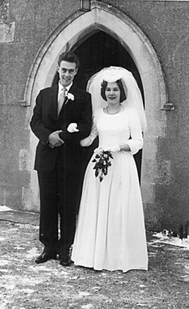 <font size=3><u> -Colin White and Wendy Beal's Wedding - 1960 </u></font> (BS0167)