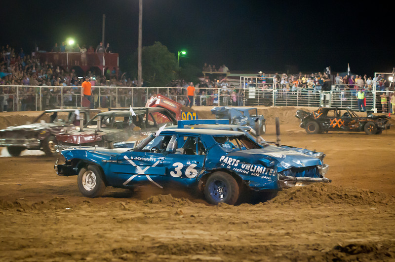 Video From White Dove of Hope Demolition Derby