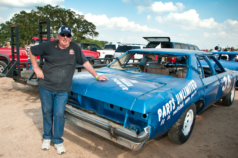 Polish Texans at the White Dove of Hope Demolition Derby