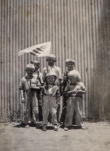 Six Kids Posing for Patrriot
