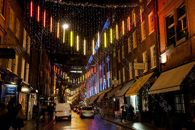 christmas lights,kerstverlichting,lumières de Noël,London,Londen,Londres