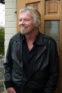 Richard Branson promoting Kite Surfing in UK