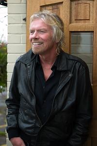 Richard Branson promoting Kite Surfing in UK