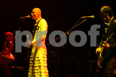 Billy Corgan and The Smashing Pumpkins 20th Anniversary concert at the historic Chicago Theatre, Chicago, Illinois on 18 November, 2008
