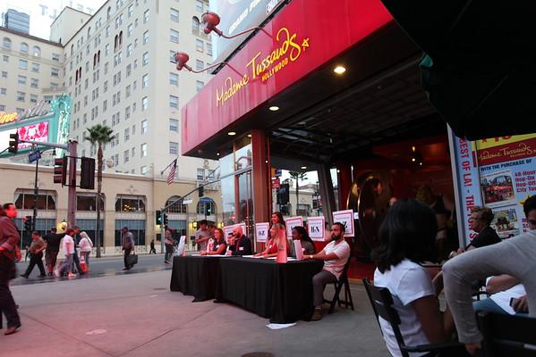 AIDS WALK LA 2015 - Madame Tussads Hollywood