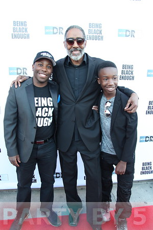 Being Black Enough Film Premiere - Arrivals and Wrap Party