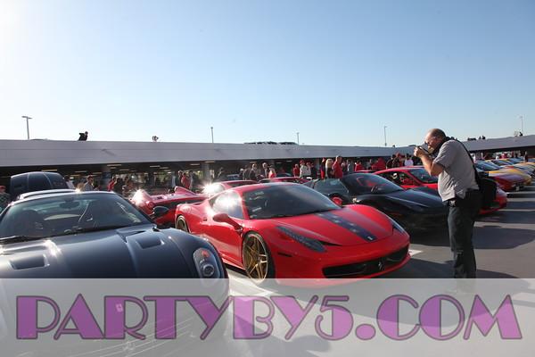 Enzo Ferrari's Birthday at Petersen Automotive Roof Top  Celebration