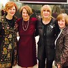 Porto Chef and Restauranteur Jody Adams of Boston with Christine Eliopoulos, Despena Zouzas and Helen Eliopoulos, all of Chelmsford.