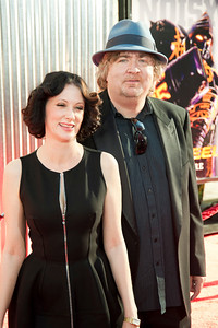 UNIVERSAL CITY, CA - OCTOBER 2: Producers Don Murphy (L) and Susan Mountford arrive at the World Premiere of 'Real Steel' at the Gibson Amphitheatre on October 2, 2011 in Universal City, California. (Photo by Tom Sorensen/Moovieboy Pictures)