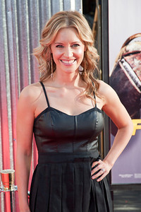 UNIVERSAL CITY, CA - OCTOBER 2: KaDee Strickland arrives at the World Premiere of 'Real Steel' at the Gibson Amphitheatre on October 2, 2011 in Universal City, California. (Photo by Tom Sorensen/Moovieboy Pictures)