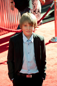 UNIVERSAL CITY, CA - OCTOBER 2: Dakota Goyo arrives at the World Premiere of 'Real Steel' at the Gibson Amphitheatre on October 2, 2011 in Universal City, California. (Photo by Tom Sorensen/Moovieboy Pictures)