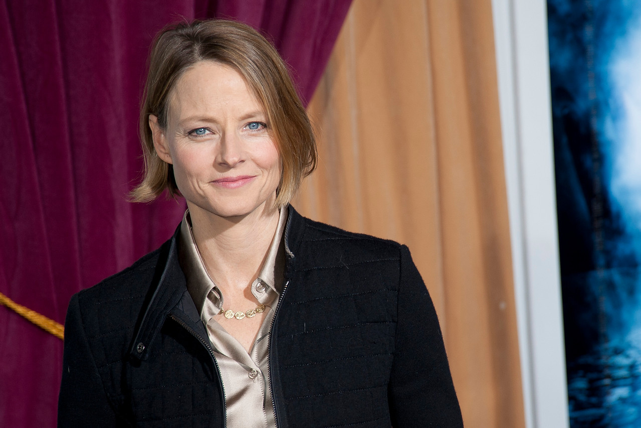 WESTWOOD, CA: Actress Jodie Foster arrives at the premiere of Warner Bros. Pictures' 'Sherlock Holmes: A Game Of Shadows' held at the Regency Village Theatre in Westwood, California. Photo taken on Tuesday, December 6, 2011 by Tom Sorensen/Moovieboy Pictures.