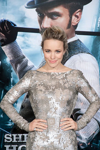 WESTWOOD, CA: Actress Rachel McAdams arrives at the premiere of Warner Bros. Pictures' 'Sherlock Holmes: A Game Of Shadows' held at the Regency Village Theatre in Westwood, California. Photo taken on Tuesday, December 6, 2011 by Tom Sorensen/Moovieboy Pictures.
