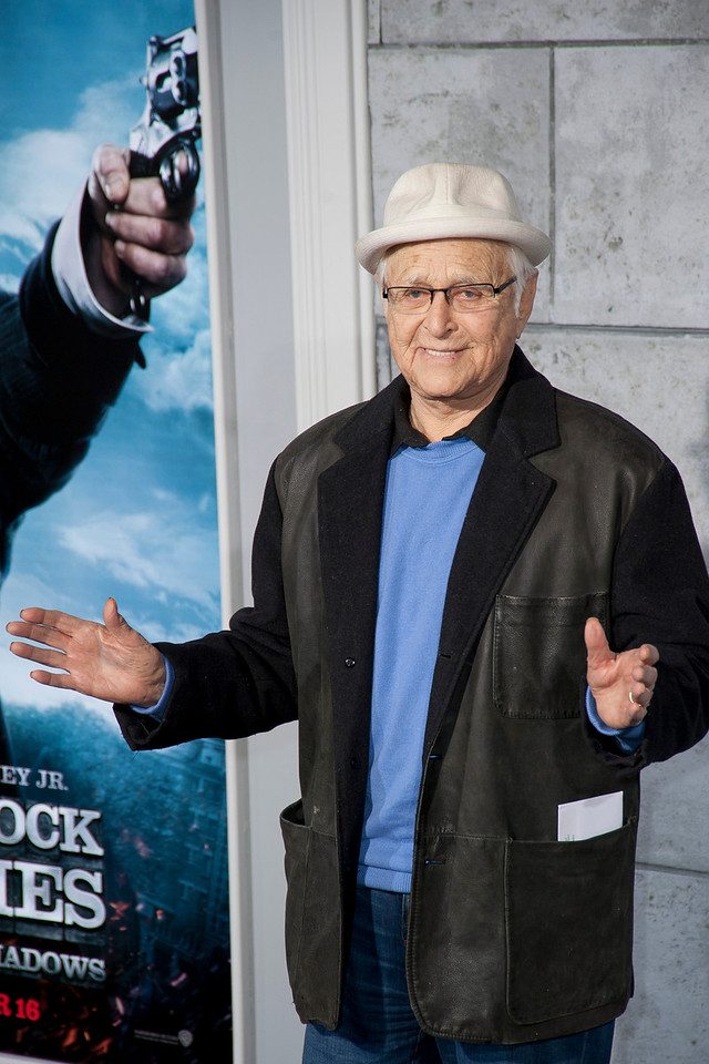 WESTWOOD, CA: Writer Norman Lear arrives at the premiere of Warner Bros. Pictures' 'Sherlock Holmes: A Game Of Shadows' held at the Regency Village Theatre in Westwood, California. Photo taken on Tuesday, December 6, 2011 by Tom Sorensen/Moovieboy Pictures.