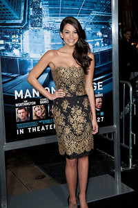 HOLLYWOOD, CA - JANUARY 23: Actress Genesis Rodriguez arrives at the Los Angeles premiere of 'Man on a Ledge' at Grauman's Chinese Theatre on January 23, 2012 in Hollywood, California. Photo taken by Tom Sorensen/Moovieboy Pictures.