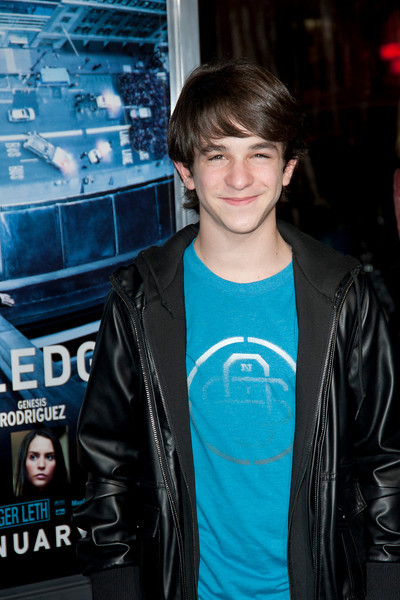 HOLLYWOOD, CA - JANUARY 23: Actor Zachary Gordon arrives at the Los Angeles premiere of 'Man on a Ledge' at Grauman's Chinese Theatre on January 23, 2012 in Hollywood, California. Photo taken by Tom Sorensen/Moovieboy Pictures.