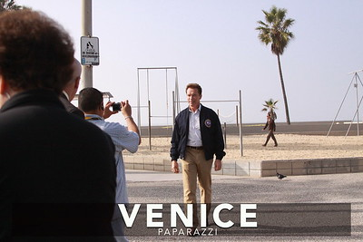 12 03 08  Arnold Schwarzenegger returns to Muscle Beach   Venice, Ca   Photo by Venice Paparazzi