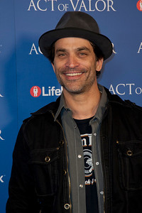 HOLLYWOOD, CA - FEBRUARY 13: Actor Johnathon Schaech arrives at the premiere of Relativity Media's 'Act Of Valor' held at ArcLight Cinemas on February 13, 2012 in Hollywood, California. Photo taken by Tom Sorensen/Moovieboy Pictures.