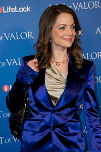 HOLLYWOOD, CA - FEBRUARY 13: Actress Kimberly Williams-Paisley arrives at the premiere of Relativity Media's 'Act Of Valor' held at ArcLight Cinemas on February 13, 2012 in Hollywood, California. Photo taken by Tom Sorensen/Moovieboy Pictures.