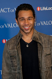 HOLLYWOOD, CA - FEBRUARY 13: Actor Corbin Bleu arrives at the premiere of Relativity Media's 'Act Of Valor' held at ArcLight Cinemas on February 13, 2012 in Hollywood, California. Photo taken by Tom Sorensen/Moovieboy Pictures.