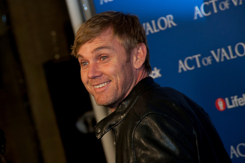 HOLLYWOOD, CA - FEBRUARY 13: Actor Rick Schroder arrives at the premiere of Relativity Media's 'Act Of Valor' held at ArcLight Cinemas on February 13, 2012 in Hollywood, California. Photo taken by Tom Sorensen/Moovieboy Pictures.
