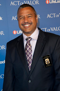 HOLLYWOOD, CA - FEBRUARY 13: Los Angeles Fire Department Fire Chief Brian Cummings arrives at the premiere of Relativity Media's 'Act Of Valor' held at ArcLight Cinemas on February 13, 2012 in Hollywood, California. Photo taken by Tom Sorensen/Moovieboy Pictures.